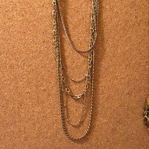 Lia Sophia long chain necklace